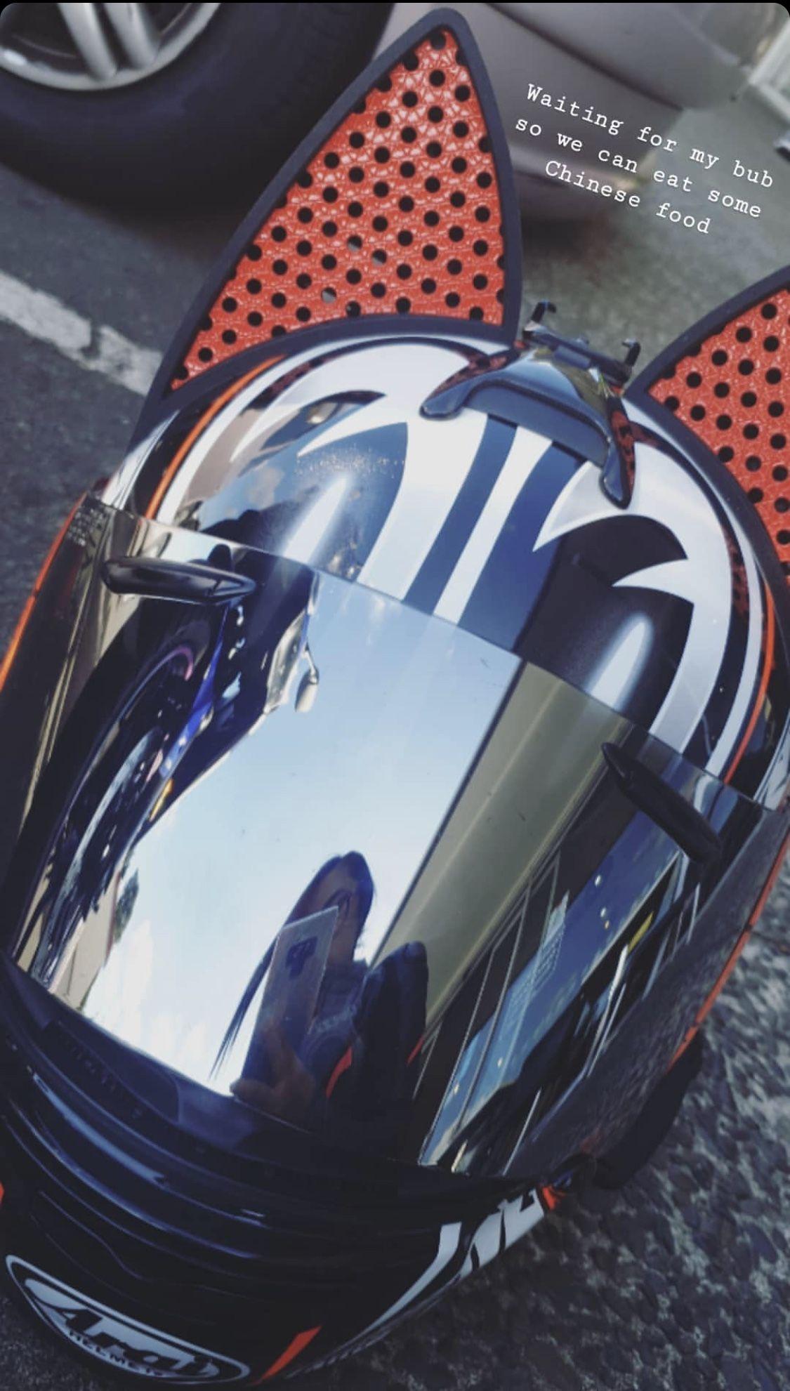 Cat Ear Motorcycle Helmets Motorcycle helmets, Custom