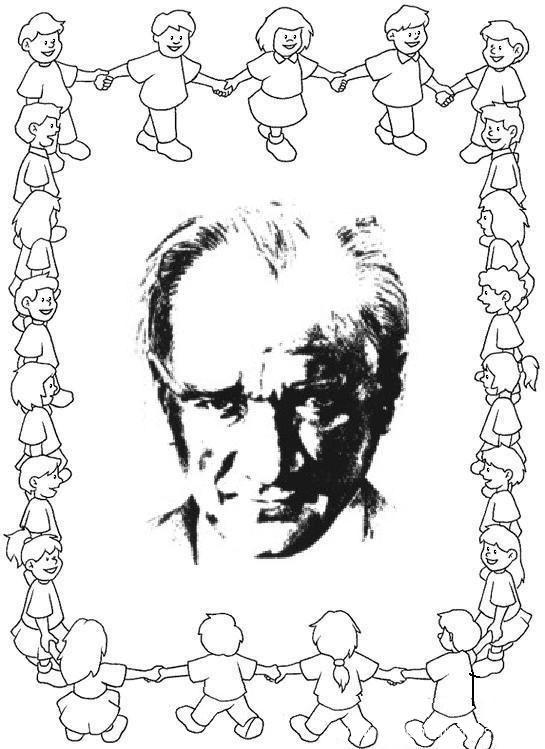 Ataturk Ataturkboyama Boyama 10kasimboyama Boyama Sayfalari