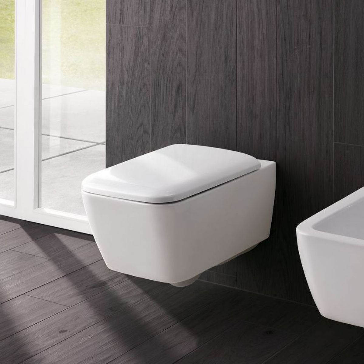 Geberit Icon Square Rimfree Wall Hung Toilet Wall Hung Toilet