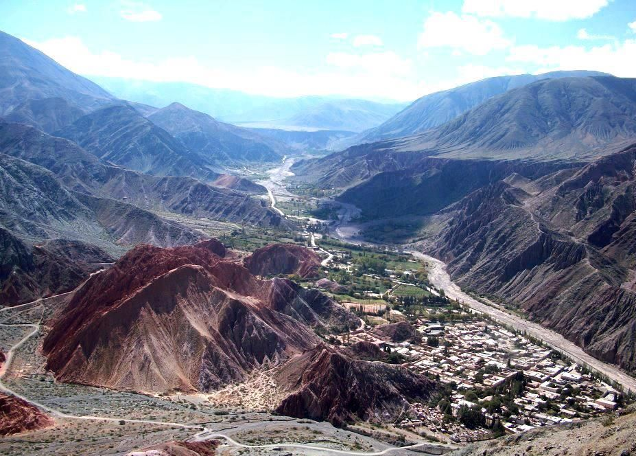 Quebrada de HUMAHUACA, JUJUY,ARGENTINA