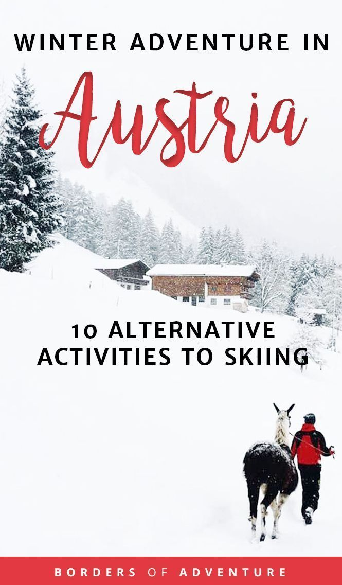 Photo of You Don't Have to Ski to Enjoy Winter in Austria – Things to Do Instead