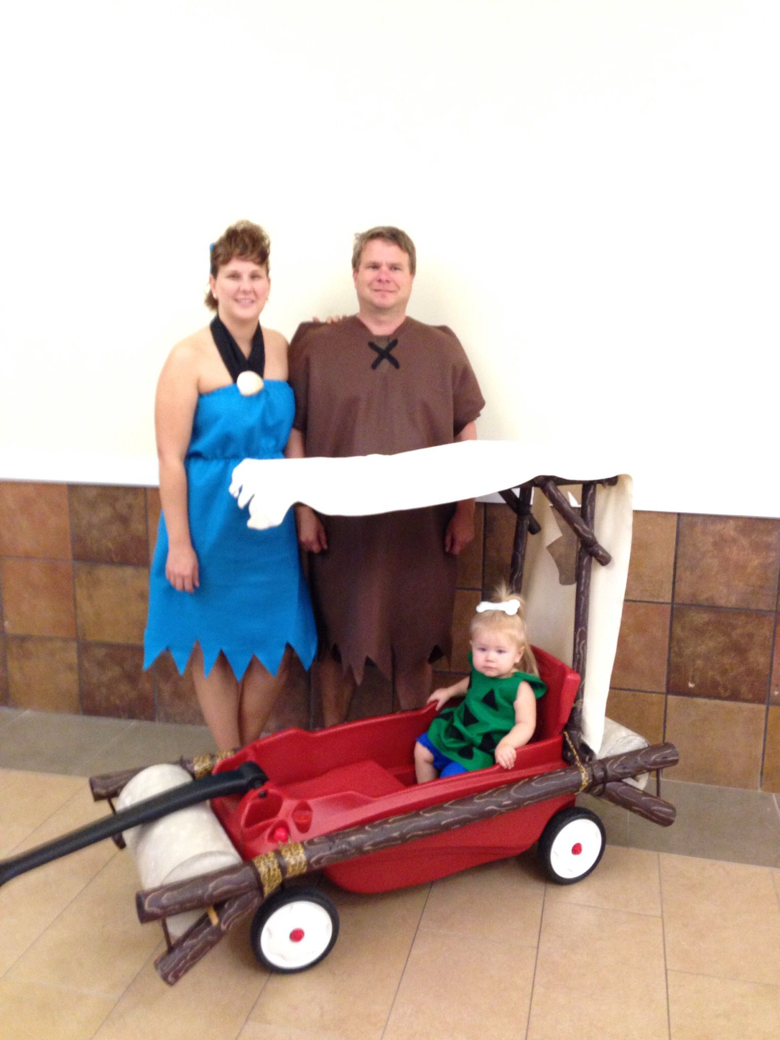 Flintstones with baby pebbles costume | costumes | Pinterest | Baby pebbles costume Pebbles costume and Costumes.  sc 1 st  Pinterest : baby pebbles costumes  - Germanpascual.Com