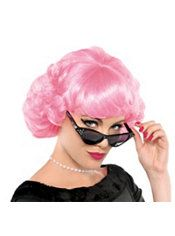 halloween costumes frenchie pink wig