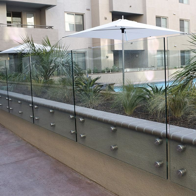 Glass Pool Fences Glass Railings Aquaview Glass Pool Fencing Glass Pool Glass Balcony
