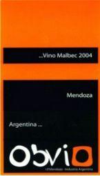 2008 Obvio Malbec, Argentina, Mendoza - I like
