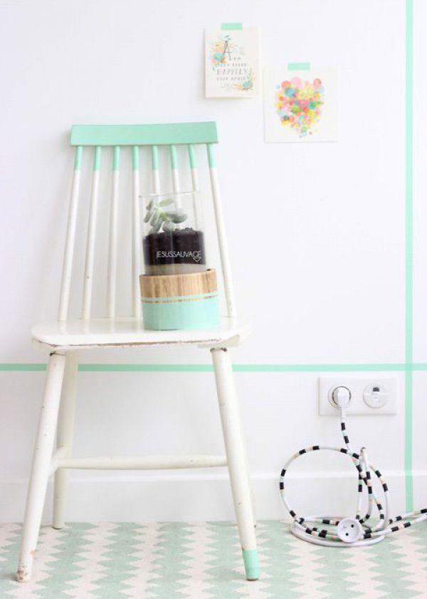 nos astuces pour dissimuler les fils lectriques dans son int rieur masking tape deco. Black Bedroom Furniture Sets. Home Design Ideas