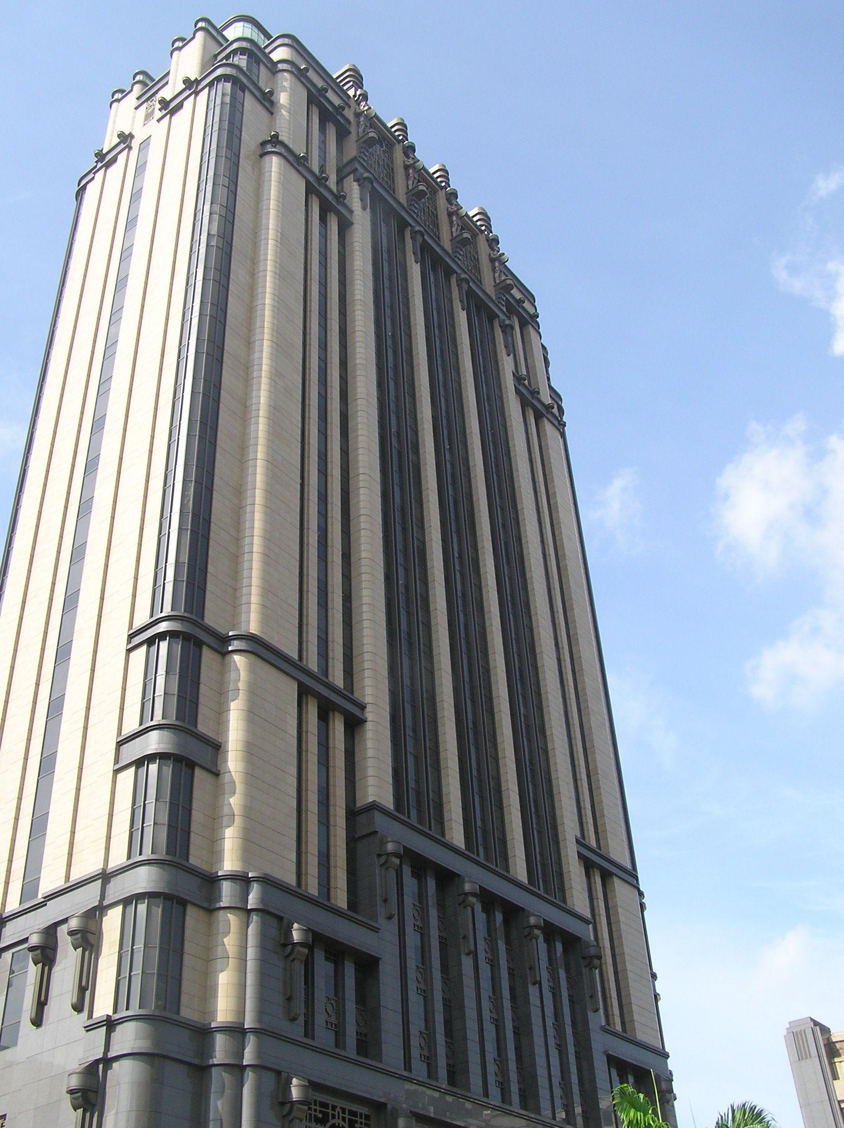 Art Deco Buildings Art Deco Office Building In 2019 Art