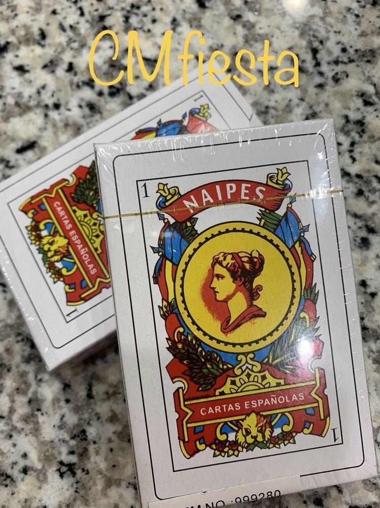 2 Decks Spanish Playing Cards Baraja Espanola 50 Cards