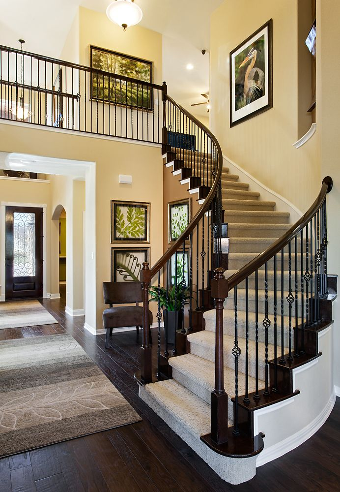 Best Spiral Staircase With Wrought Iron Spindles Diy Stairs 400 x 300