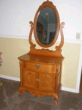 washstand mirror many pieces in this collection have a mirror specifically designed for it this is one