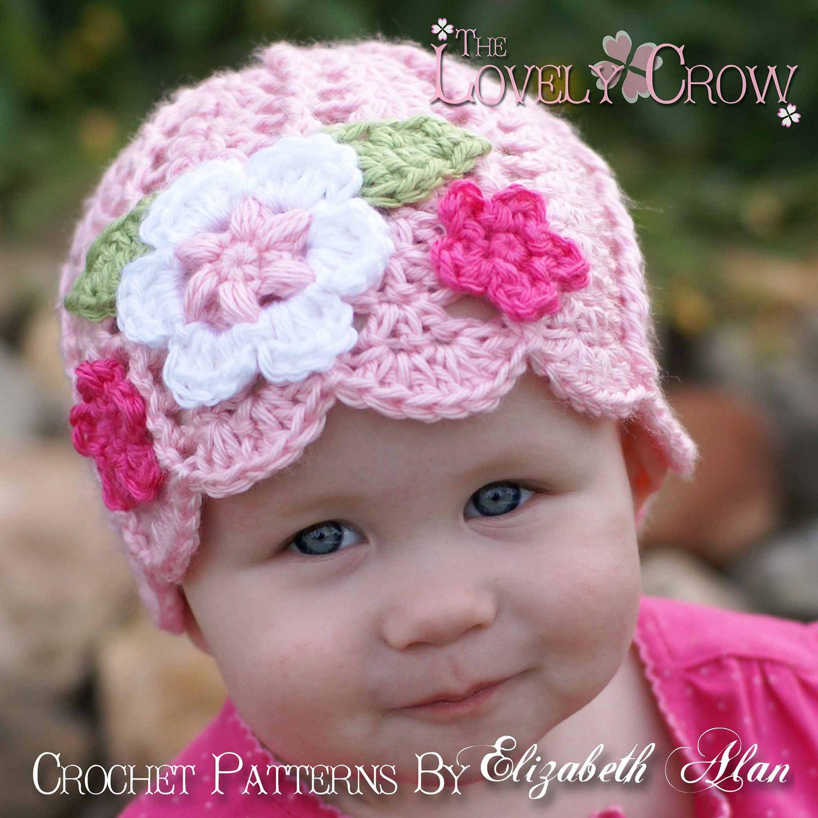 Garden Fairy Hat pattern by Elizabeth Alan | Baby beanie hats, Fairy ...