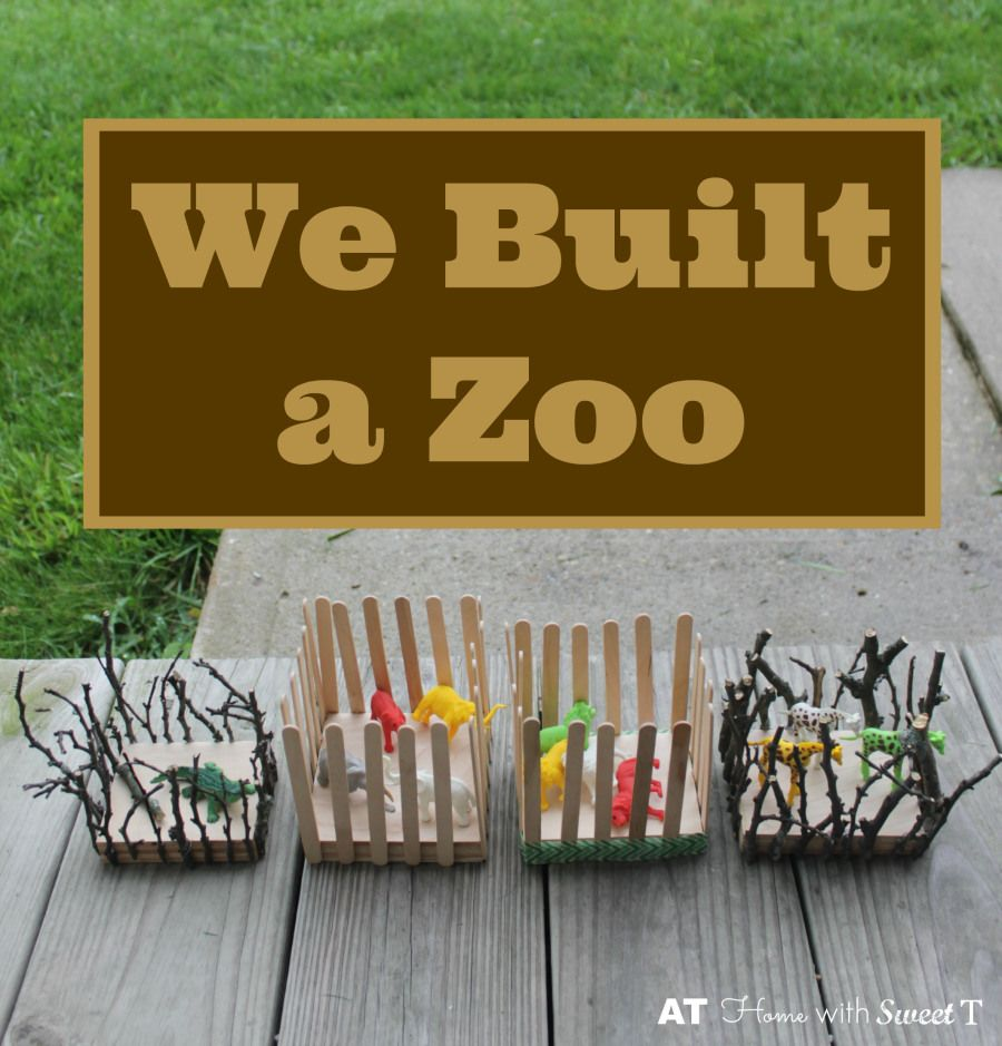 We Built A Play Zoo Ogt Blogger Friends Kids Zoo Zoo
