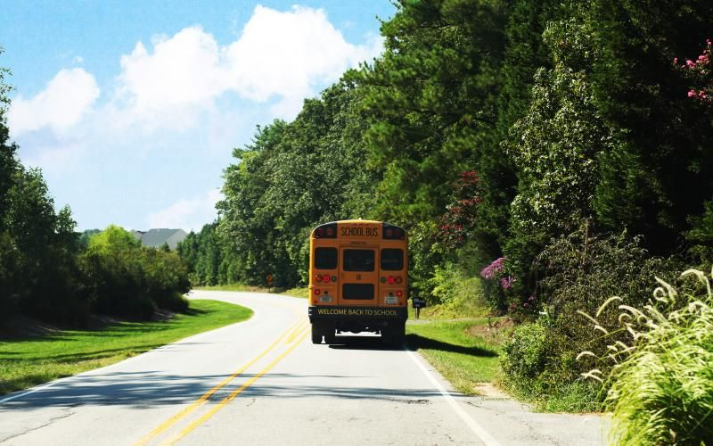 Free Hd Wallpapers For Your Computer School Yellow Bus With