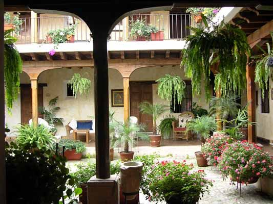 central courtyard my grandparents homes had courtyards very modest but loved the feeling of. Black Bedroom Furniture Sets. Home Design Ideas