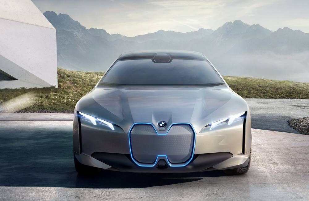 Bmw I4 Electric Sedan With Images Concept Cars
