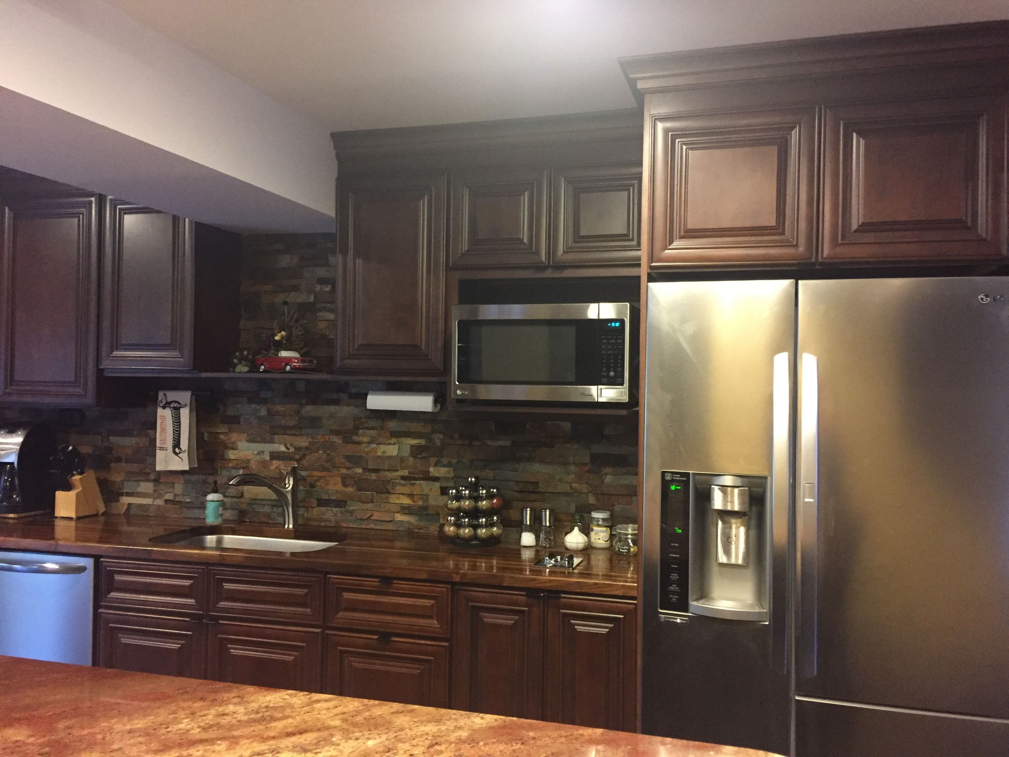 Lily ann cabinets review - Hello Dear Friends Charleston Saddle Kitchen Cabinets Lily Ann Cabinets Customer