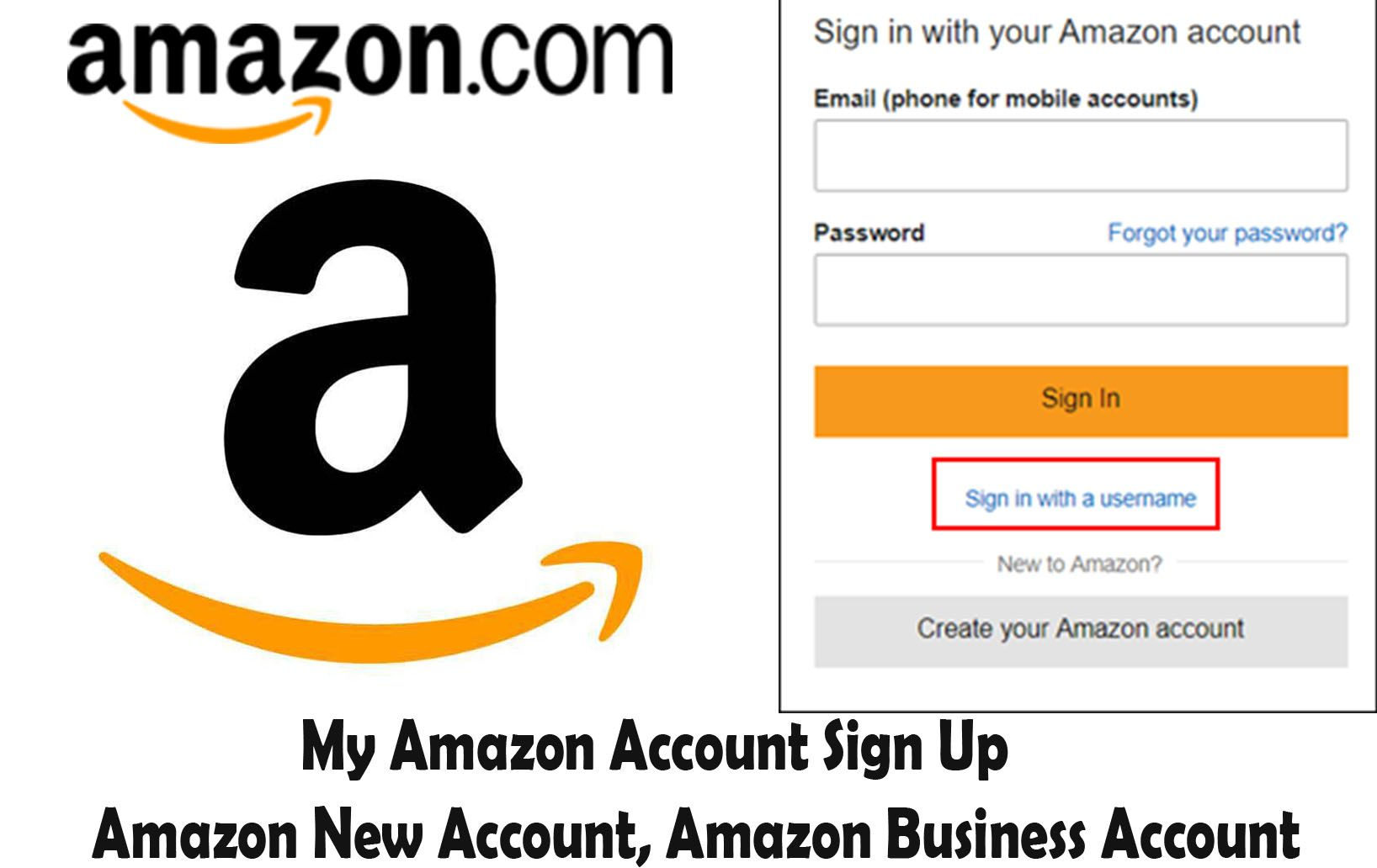 My Amazon Account Sign Up Amazon New Account Amazon Business Account Techsovibe Twitter For Business Amazon Business Amazon Jobs