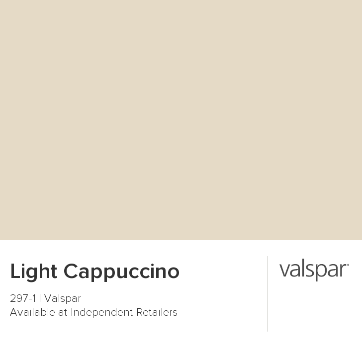 Valspar Paint Color Chip Light Cappuccino Valspar Paint Colors Light Beige Paint Colors Warm Paint Colors