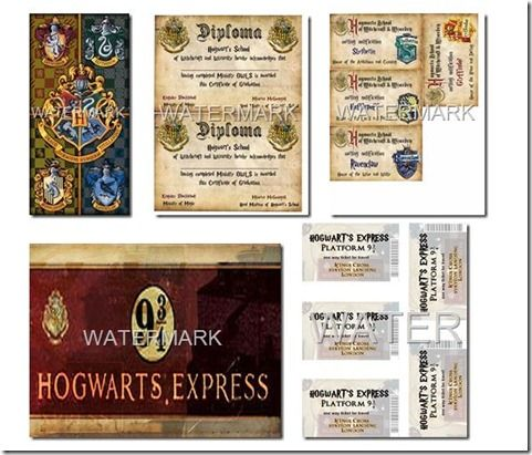 graphic regarding Hogwarts Printable called Free of charge Harry Potter Printables Printables in opposition to our Harry