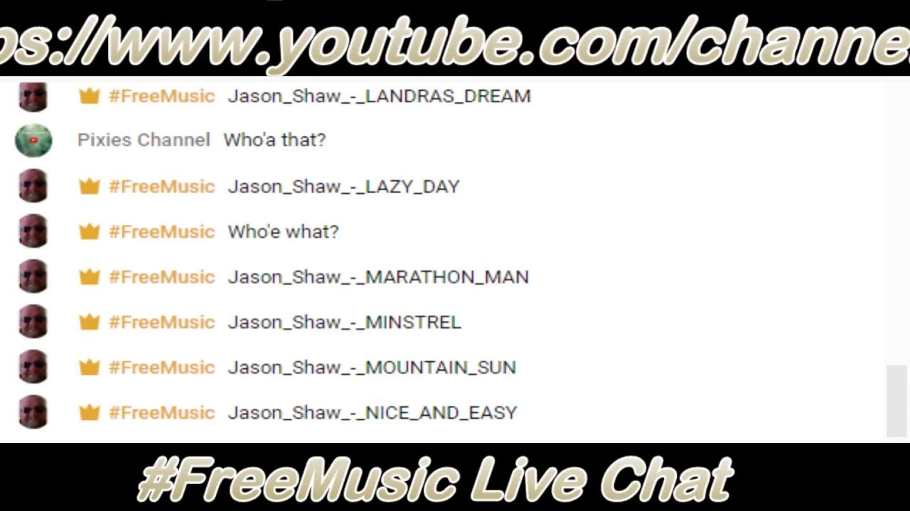 Freemusic live chataudionautix acoustic by jason shaw