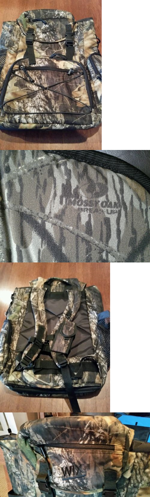 Day Packs 87122: Mossy Oak Camo Backpack Breakup Wix Filters Hunting Hiking Fishing Large New! BUY IT NOW ONLY: $40.0