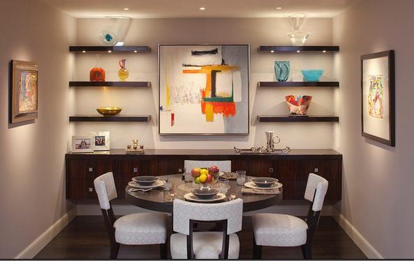Fotos de Comedores: muebles para comedores pequeños   Ideas para el ...