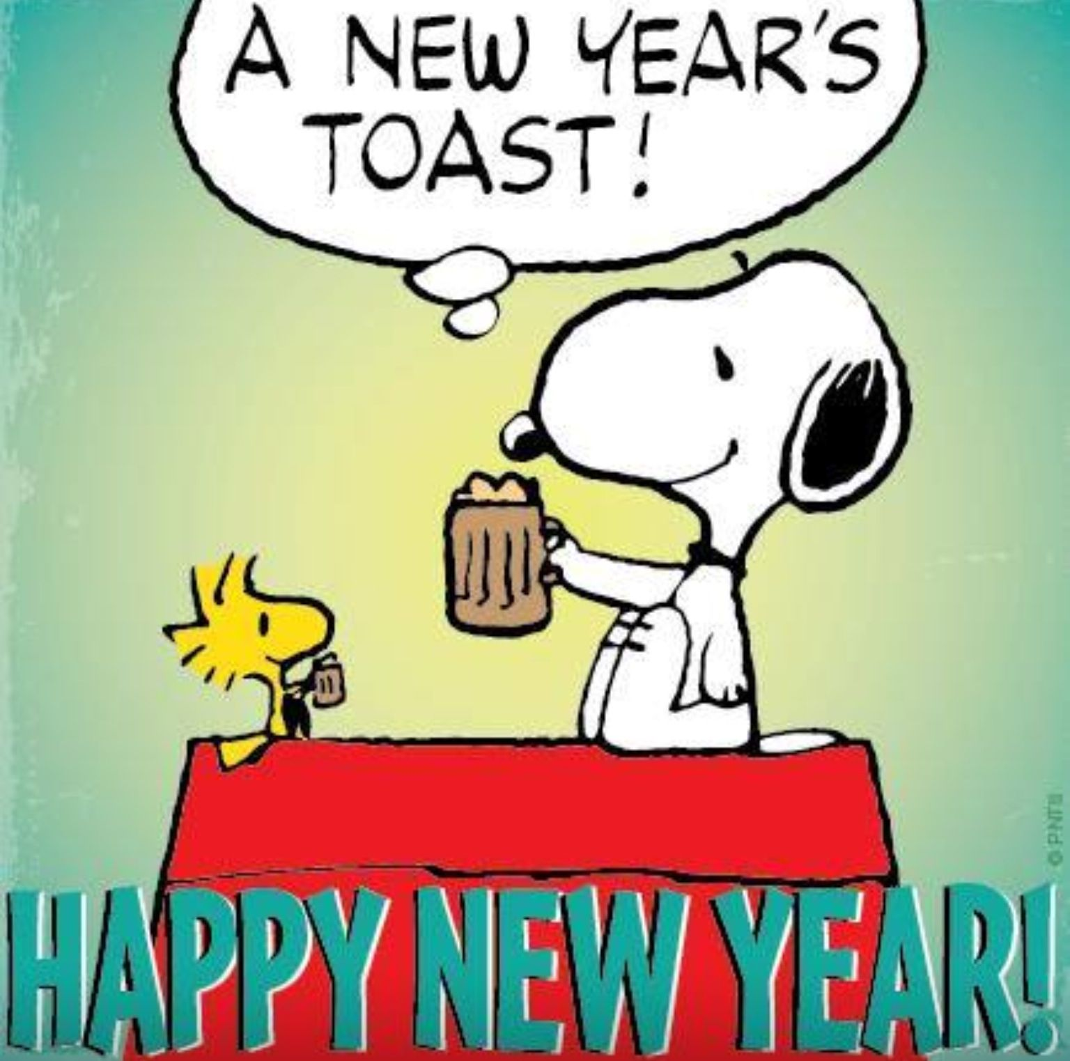 Snoopy & Woodstock Happy New Year Always About the