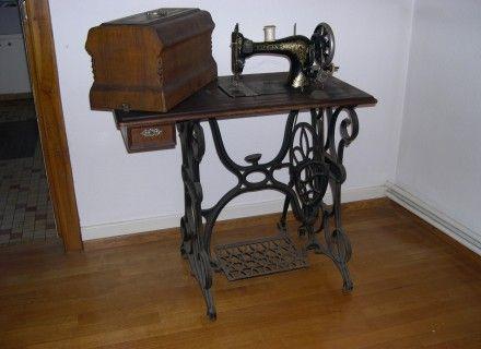 machine coudre ancienne machines coudre anciennes pinterest coudre ancien et annonce. Black Bedroom Furniture Sets. Home Design Ideas
