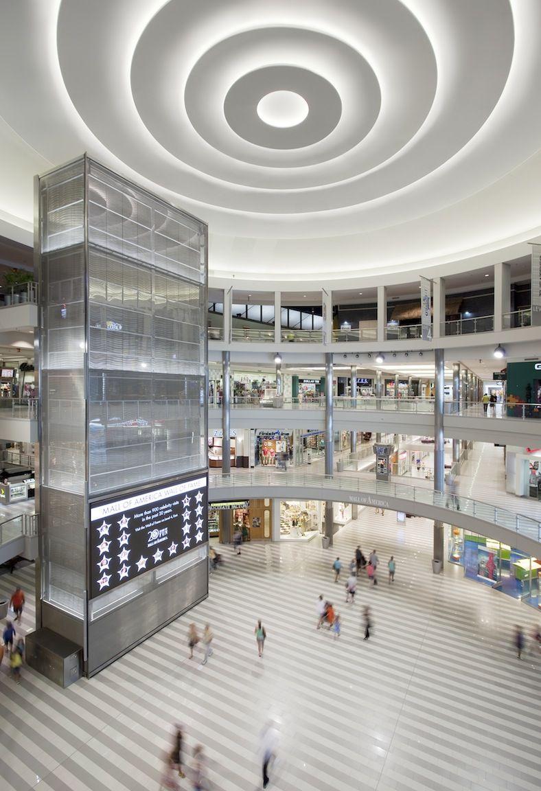Custom Architectural Fabrication | Shopping mall interior ...