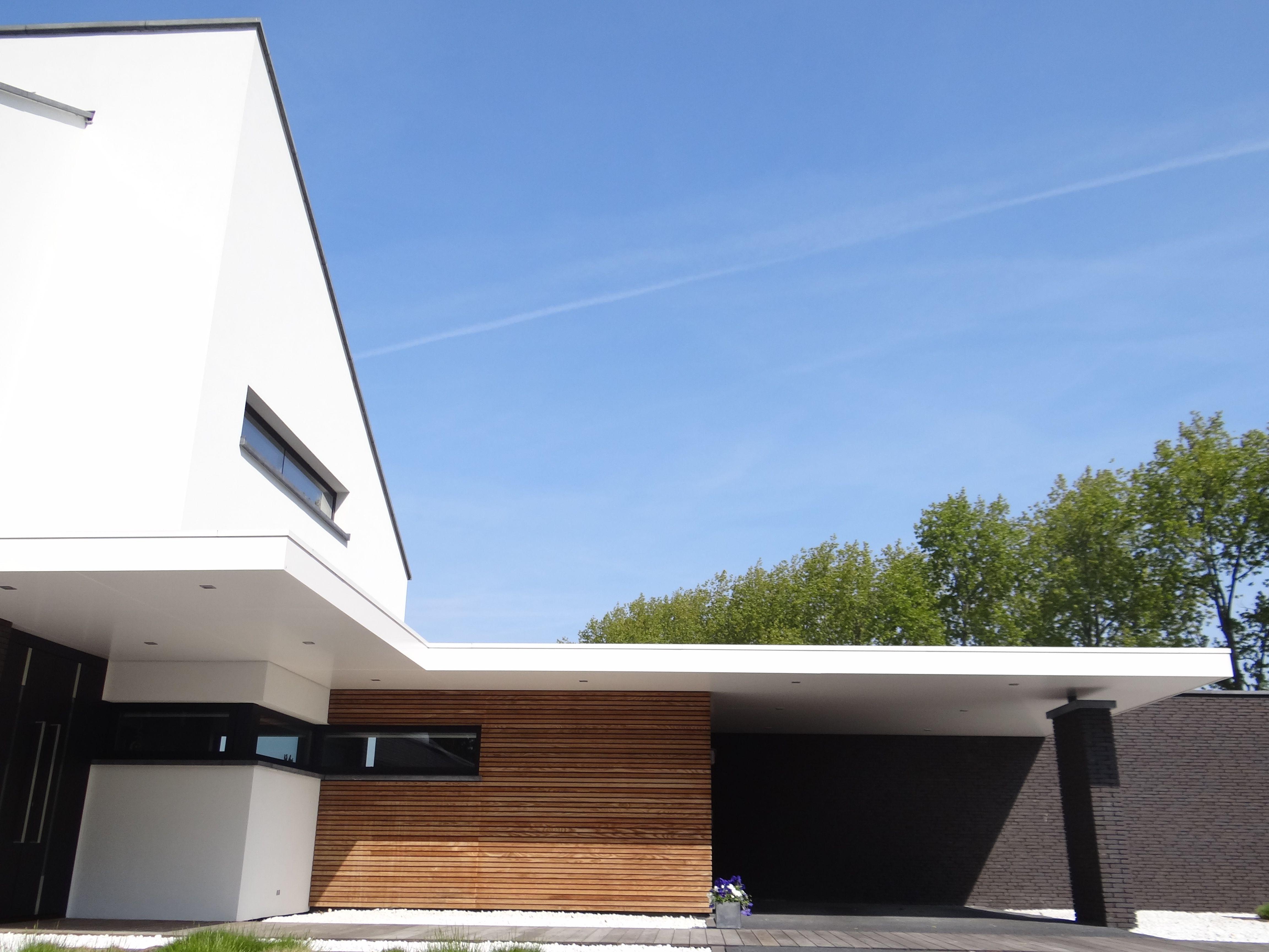 Sjaak goud architect villa waterlandkerkje nederland wit