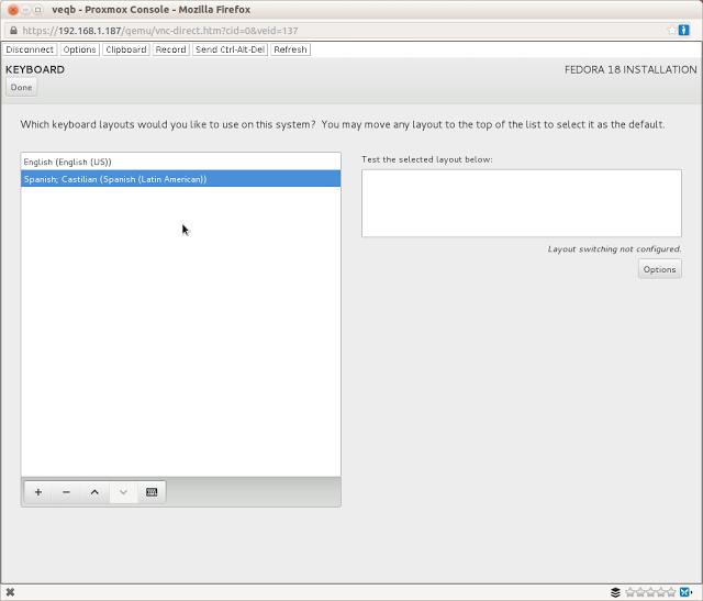 Instalando Fedora 18 paso a paso