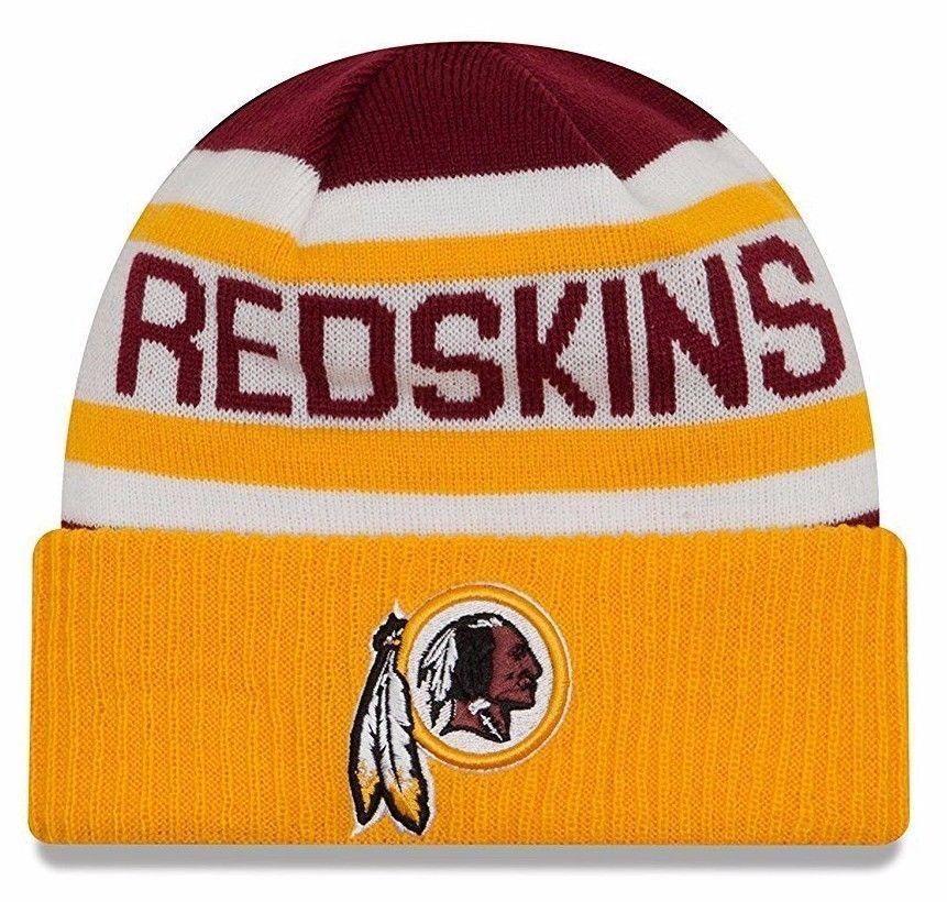 26089354a34 New Era NFL Washington Redskins Biggest Fan 2.0 Cuff Knit Beanie Acrylic