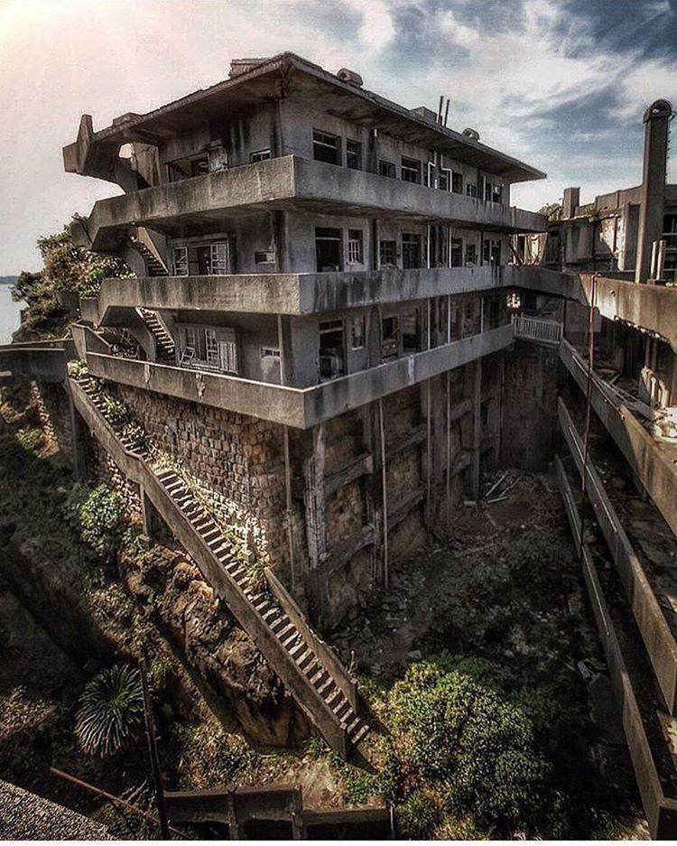 Geisterstädte Auf Der Weltkarte. Hashima, Japan (35 Fotos