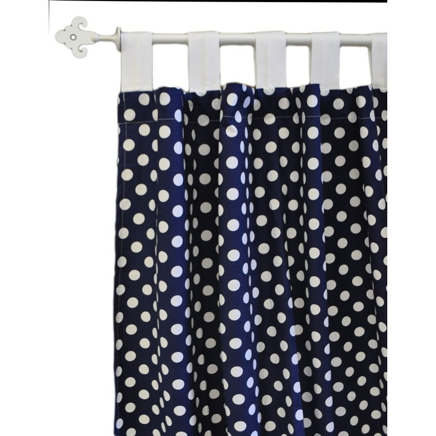 Zig Zag Baby In Navy Curtain Panels By New Arrivals Www