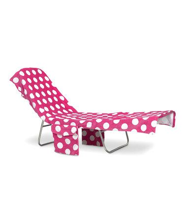 Miraculous Take A Look At This Pink White Polka Dot Lounge Chair Inzonedesignstudio Interior Chair Design Inzonedesignstudiocom