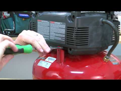 Porter Cable Air Compressor Repair How to replace the