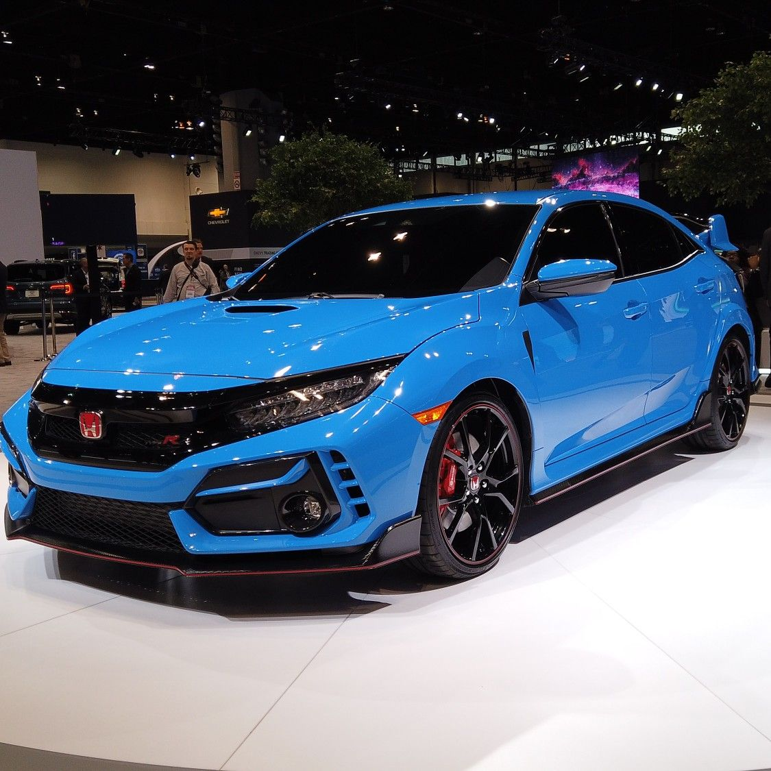 Honda finally reveal the 2020 Type R at the Chicago Auto