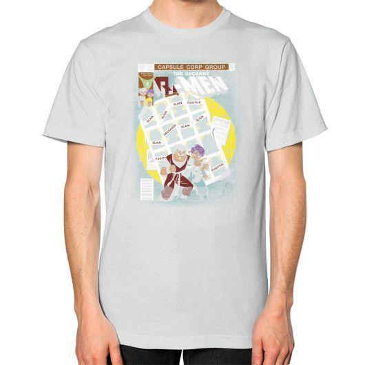 Z Men Unisex T-Shirt (on man)