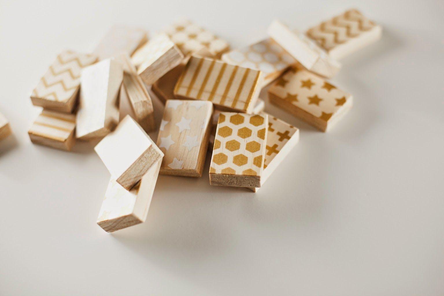 Crafted: DIY wood block memory game