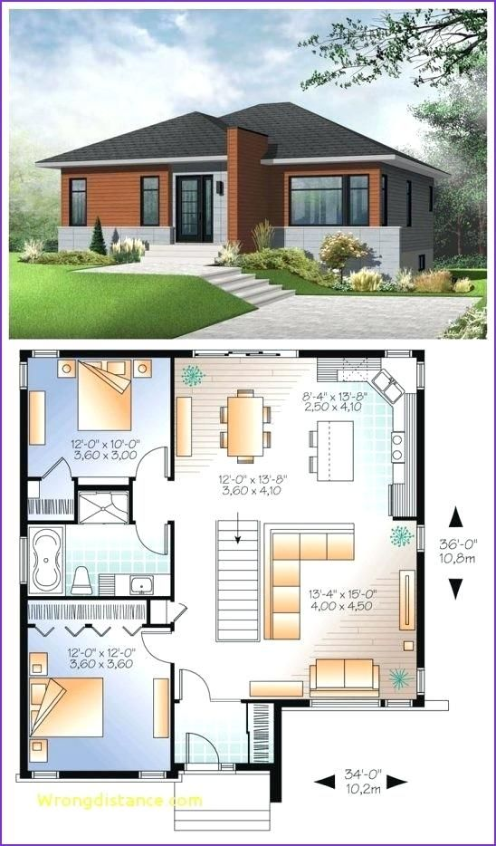 2 Bedroom House Design Floor Plan 2 Bedroom House Small 2 Bedroom House Plans In Kenya Small Modern House Plans Modern Style House Plans House Layouts