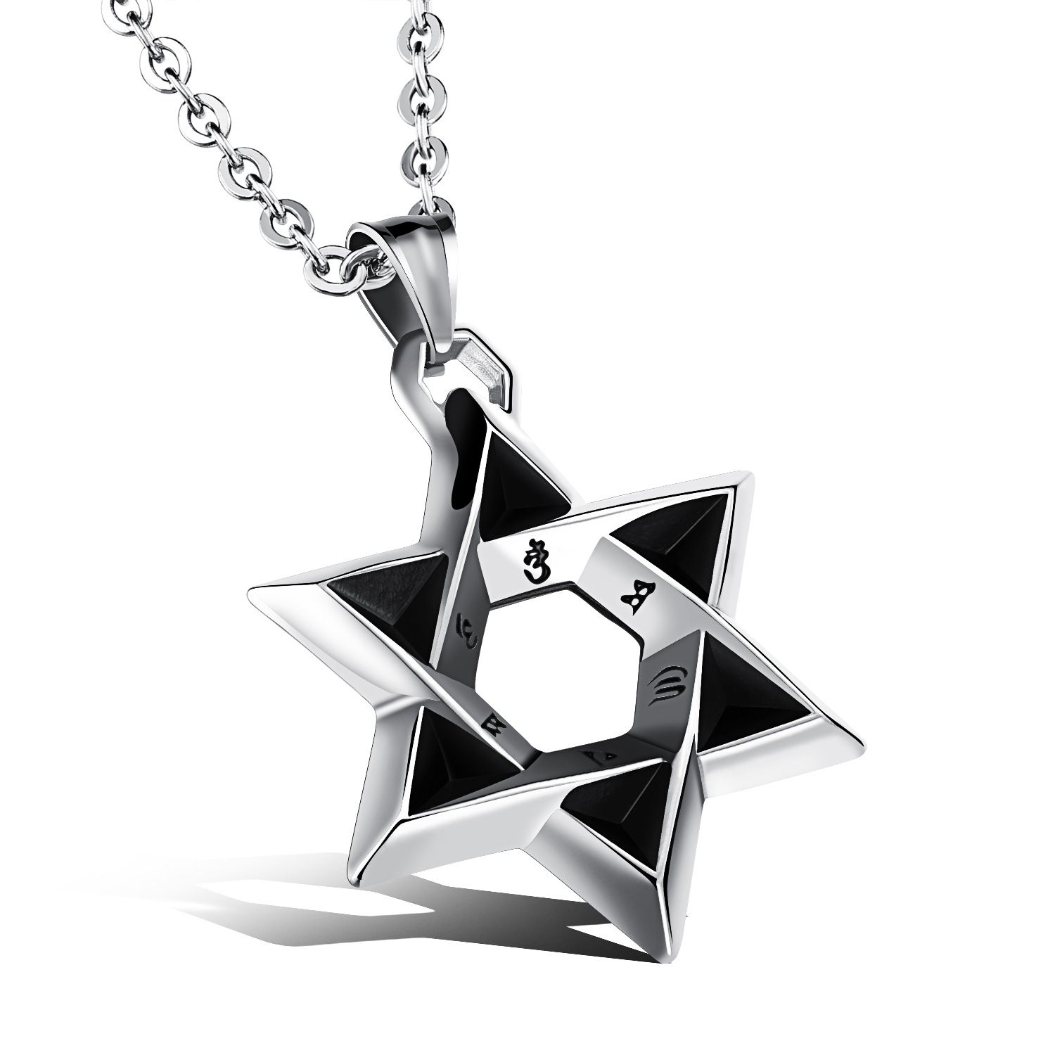 Religious Jewelry For Man Star Of David Pendant Necklaces Mens