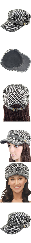 c17367e5 Dahlia Women's Wool Blend Newsboy Cap Hat - Gray | Newsboy cap, Caps ...