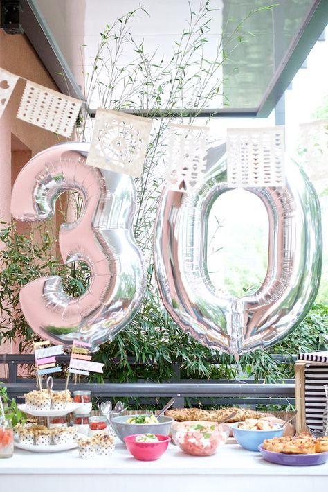 Ideen 30. Geburtstag Feier