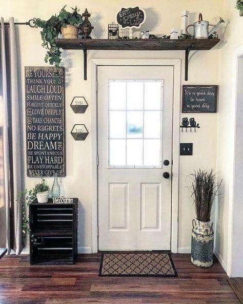 16+ Farm door decor inspiration