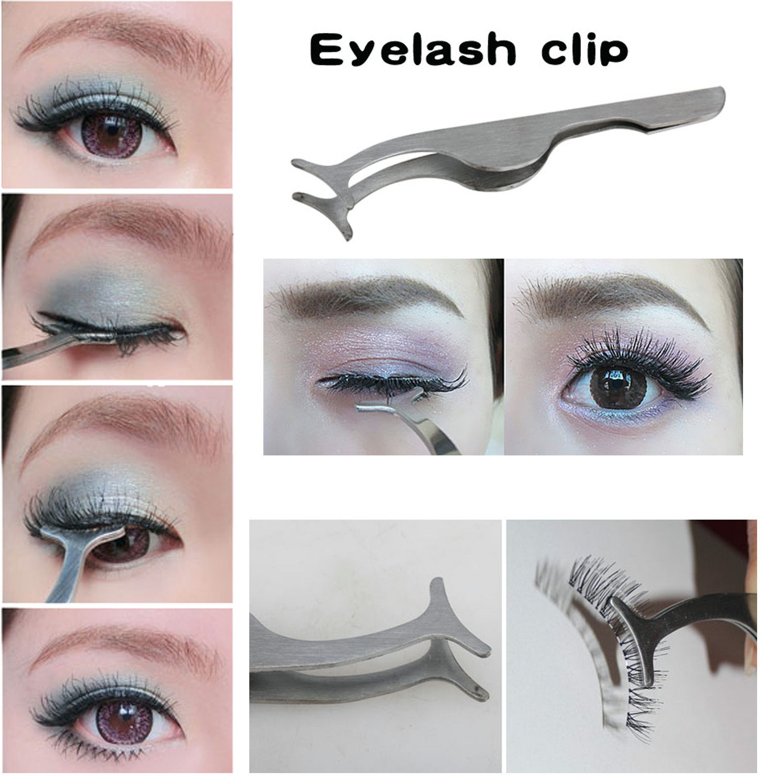 743e49cedb9 1.05AUD - Hot Beauty False Eyelashes Extension Applicator Remover Clip  Tweezer Nipper Tool #ebay #Fashion