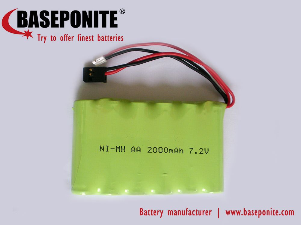 7 2v Nimh Aa 2 0ah Battery Pack Welcome To Contact Us Nimh Battery Battery Pack