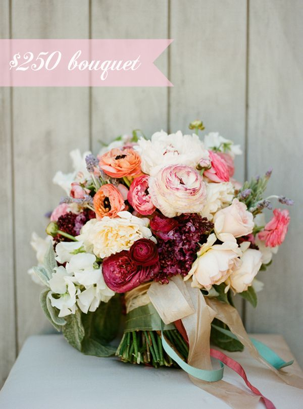 How Much Does A Wedding Bouquet Cost