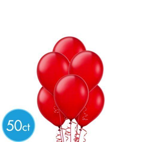 Red Mini Balloons 50ct