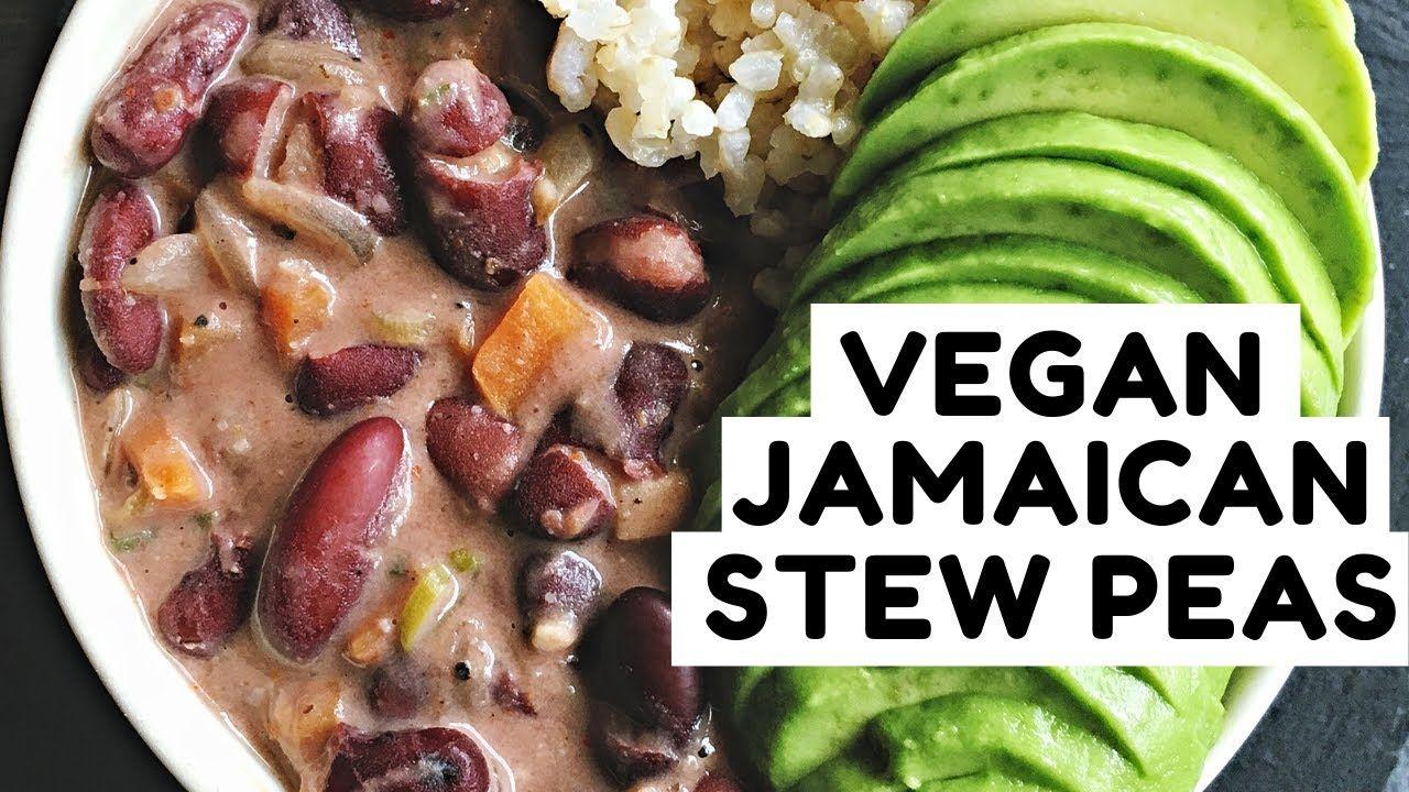 vegan jamaican stew peas  easy caribbean comfort food
