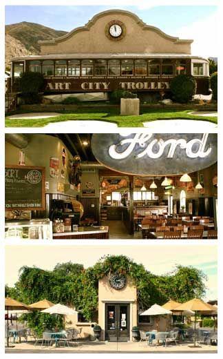 Utah Business -Utah Restaurant - Best BBQ ribs! Art City Trolly in Springville Utah